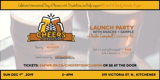 Cheers to Inclusion! Launch of the Andre Campbell Cranberry Ale