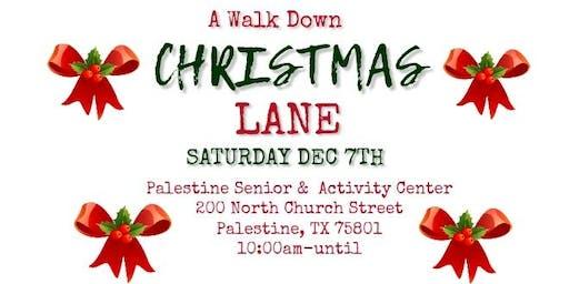 A Walk Down Christmas Lane