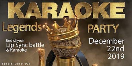 Karaoke Legends tickets