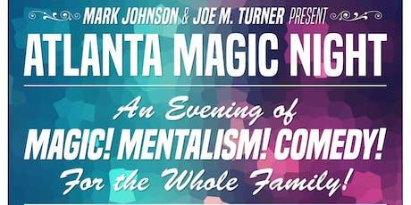 Atlanta Magic Night! w/ Mark Johnson + Chris Moorman tickets