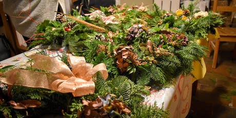 Festive Welcome Wreath Workshop tickets