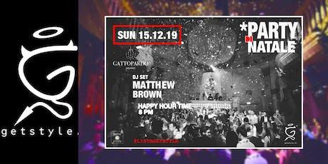 Party di Natale at GATTOPARDO - #ListaGetstyle biglietti