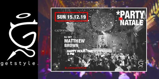 Party di Natale at GATTOPARDO - #ListaGetstyle