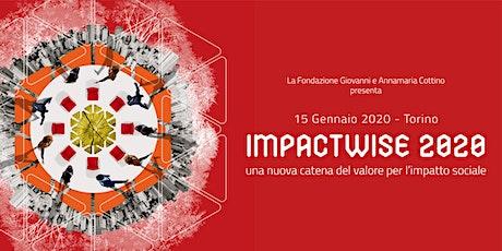 IMPACTWISE 2020: la conferenza di lancio del Cottino Social Impact Campus biglietti