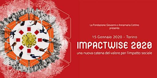 IMPACTWISE 2020: la conferenza di lancio del Cottino Social Impact Campus