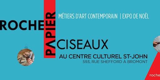 Conférence de presse Roche Papier Ciseaux & Festif Bromont!
