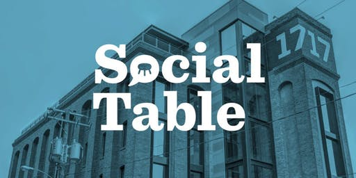 SOCIAL TABLE: AN EVENING OF LIGHTNING TALKS ABOUT DESIGN & SOCIAL IMPACT