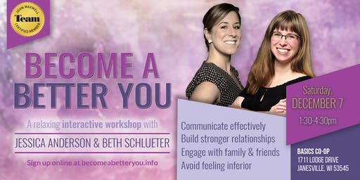 Become a Better You Workshop