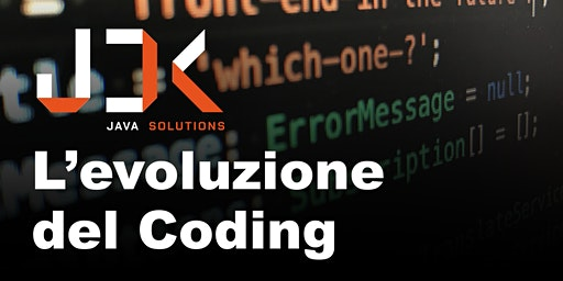 L'evoluzione del Coding