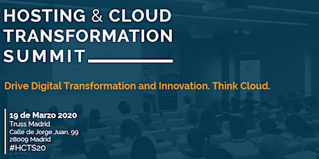 HOSTING & CLOUD TRANSFORMATION SUMMIT entradas