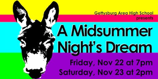 GAHS Fall Play: A Midsummer Night's Dream