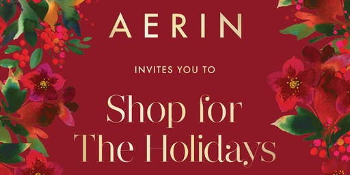AERIN Holiday Trunk Show