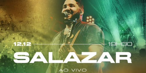 """GRAVAÇÃO DVD """"SALAZAR AO VIVO"""""""