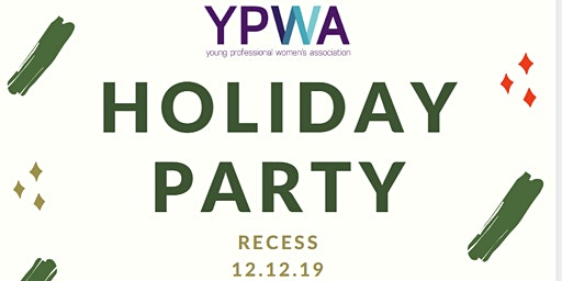 YPWA Holiday Party