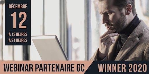 Webinar Partenaire GC - WINNER 2020