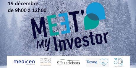 Meet My Investor - La levée de fonds en Santé billets