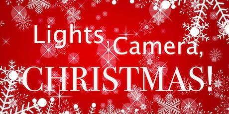 Lights, Camera, CHRISTMAS tickets