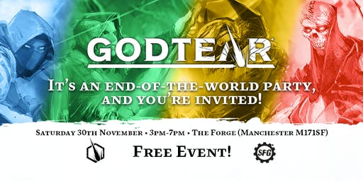 Official Godtear Launch Party