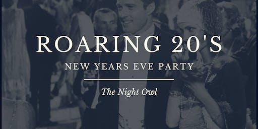 Welcome to the Roaring 20's New Years Eve Party