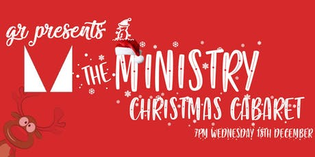 Ministry of Sound - Cabaret Christmas Party tickets