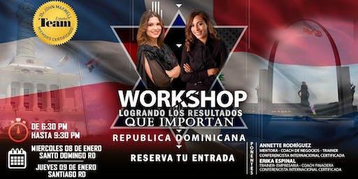 Workshop: Logrando los resultados que importan
