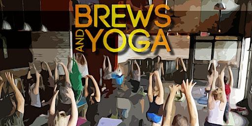 Brews & Yoga at Alter Brewing Co.