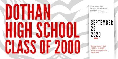 Dothan High School Class of 2000 Twenty-Year Renion