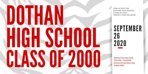 Dothan High School Class of 2000 Twenty-Year Reunion