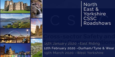 CSSC North East & Yorkshire Regional Roadshow - Durham/Tyne & Wear tickets