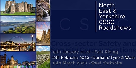 CSSC North East & Yorkshire Regional Roadshow - Durham/Tyne & Wear tickets