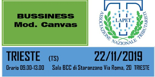 BUSSINES modello CANVAS
