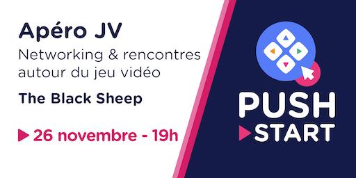 Apéro JV Novembre - Networking & rencontres autour du jeu vidéo