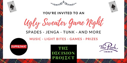 Hearts to Heels - An Ugly Sweater Game Night