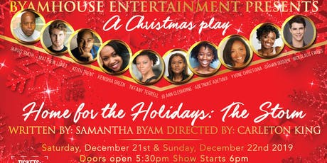 Home for the Holidays: The Storm ( A Christmas play)  tickets