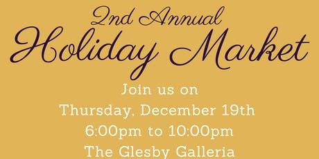 2nd Annual Holiday Market tickets