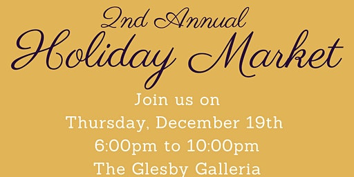 2nd Annual Holiday Market