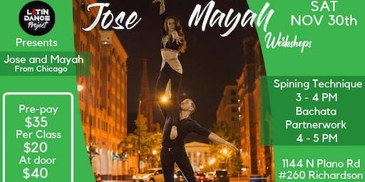 Jose And Mayah Dance Workshops