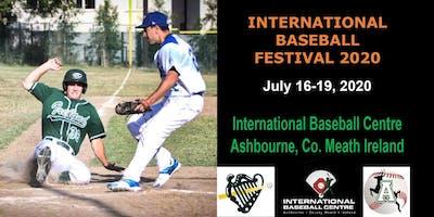 2020 International Baseball Festival