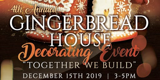 4th Annual MAPS Gingerbread House Event