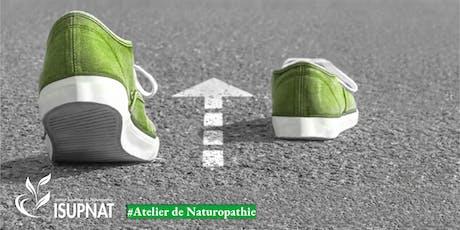 Activité physique pour les « j'ai pas le courage » - Atelier de naturopathie billets