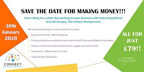 TUM & Connect 'Making Money' Workshop tickets