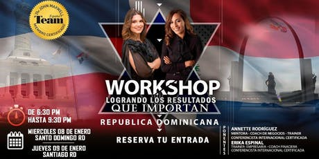 Workshop: Logrando los resultados que importan boletos