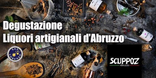 Degustazione SCUPPOZ Liquori artigianali d'Abruzzo
