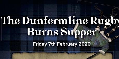 Dunfermline Rugby Club Burns Supper  tickets