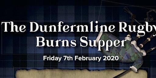 Dunfermline Rugby Club Burns Supper
