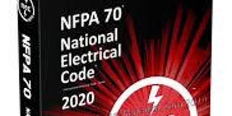 2020 NEC Code Update  CEB 20-750830 tickets