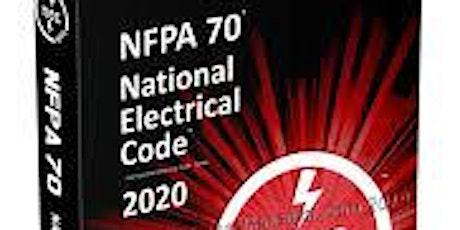 2020 NEC Code Update  CEB 20-750830 tickets
