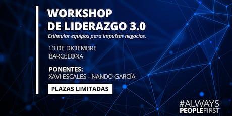 Workshop de Liderazgo 3.0 entradas