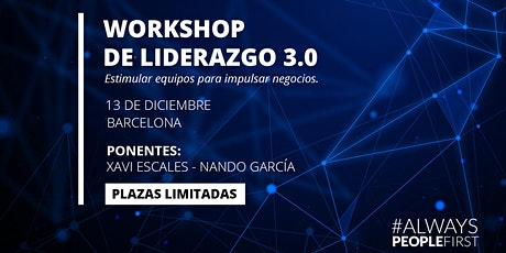 Workshop de Liderazgo 3.0 entradas