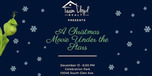 A Christmas Movie Under the Stars